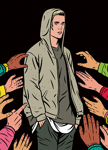 The new yorker justin bieber